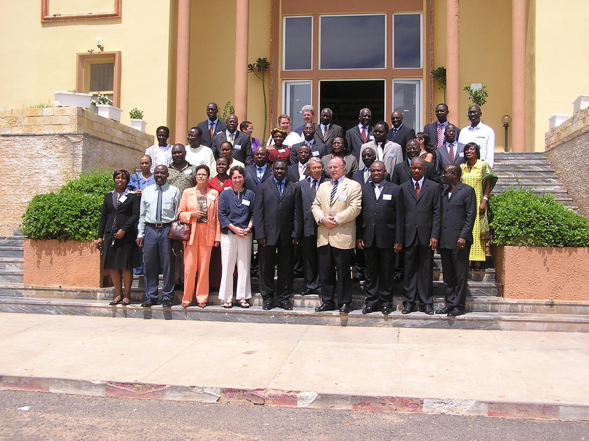 ANCL members the 2008 Dakar annual conference